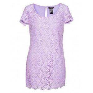 ARITZIA TALULA Fleetwood Purple Floral Lace Dress